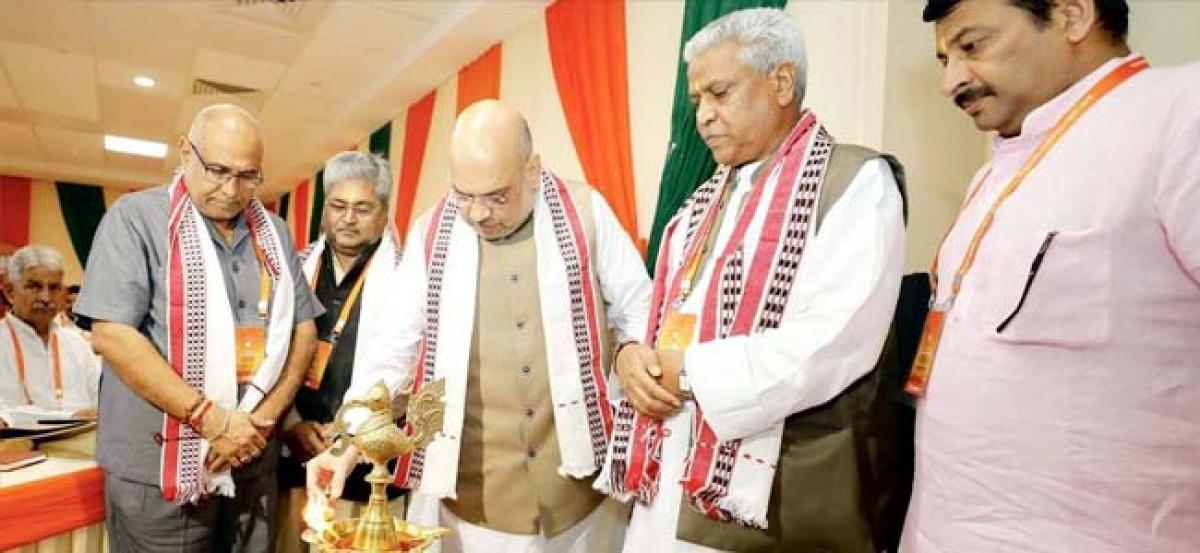 Amit Shah to kick off BJP