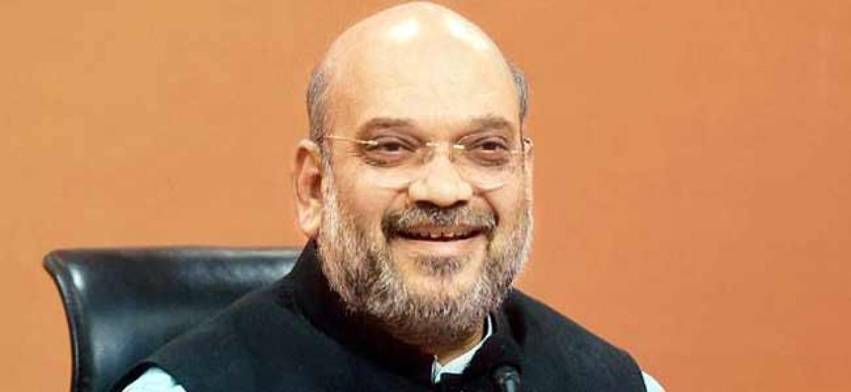 Neither dynasty nor casteism will work in Gujarat: Amit Shah
