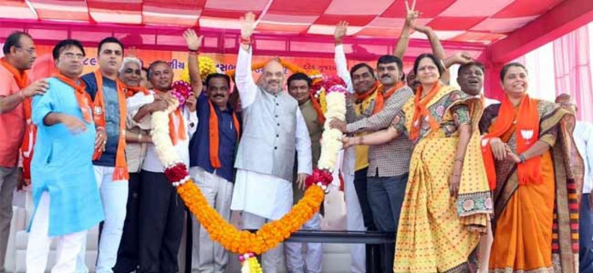 UP civic poll results nothing compared to what will happen in Gujarat, says BJP chief Amit Shah