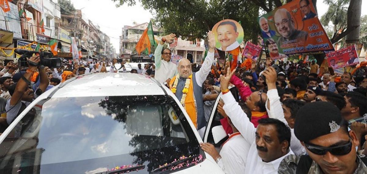 Amit Shah launches BJPs mass contact campaign in Madhya Pradesh