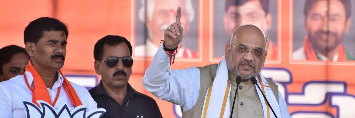 Congress, TRS resorting to appeasement politics: Amit Shah