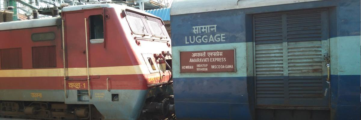 Wanted pantry car in Amaravati Express