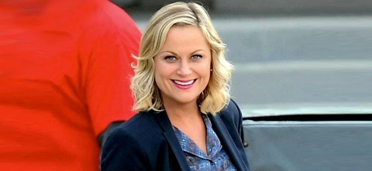 Amy Poehler didnt think of making a career out of being funny