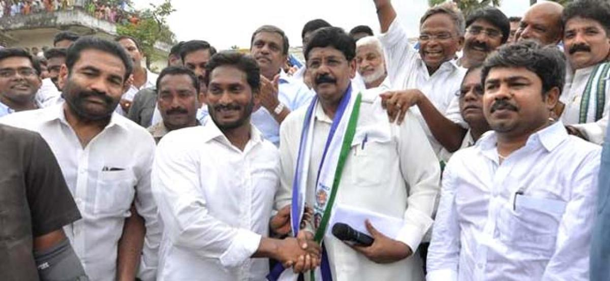 Anams Entry In YSRCP Gives Jitters To Nellore Leaders!