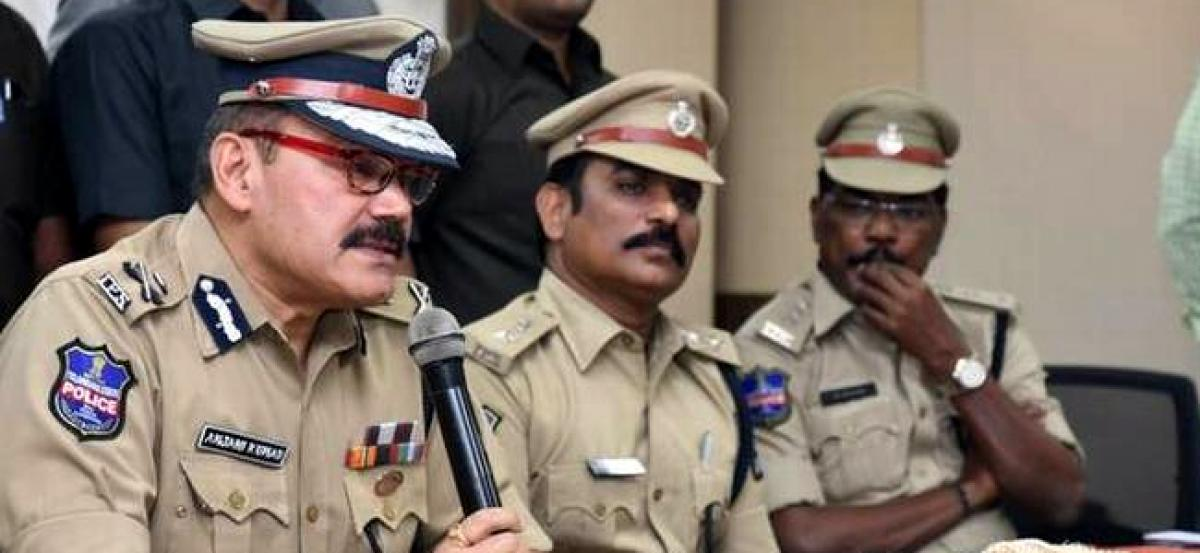Top military officials visit Hyderabad Police Commissionerate