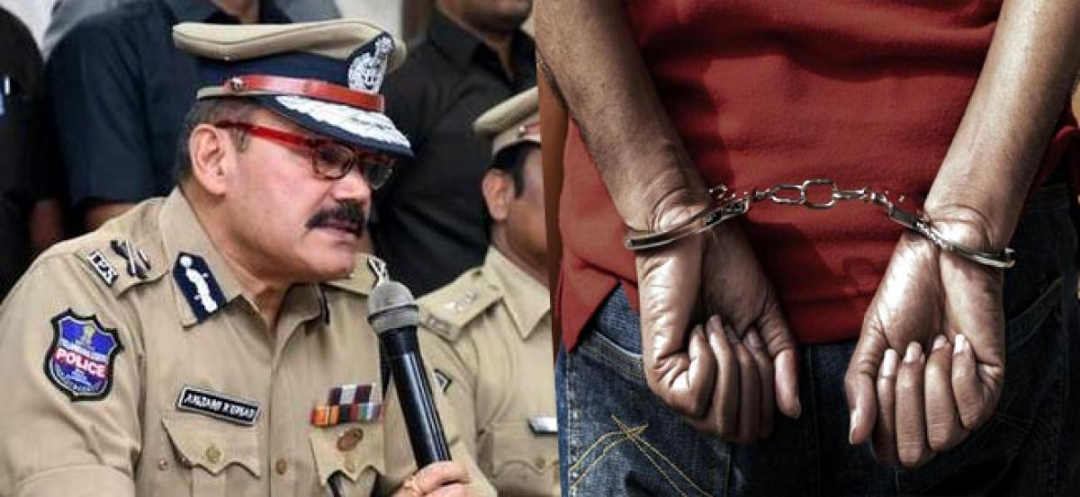 Mother, two sons arrested in Hyderabad over charges of theft