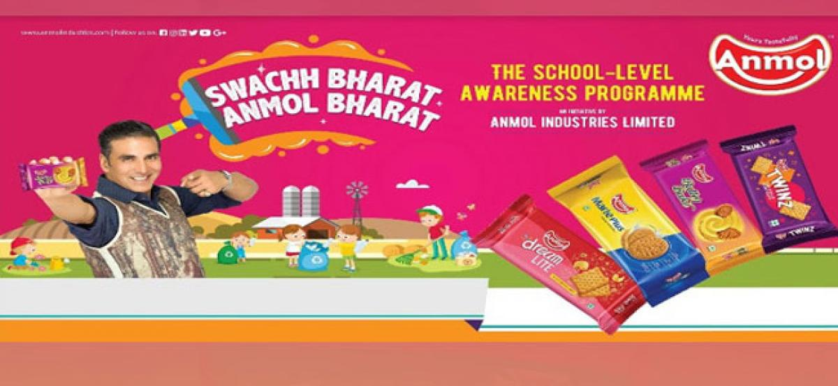 Anmol Industries Limited launches Swachh Bharat - Anmol Bharat school campaign