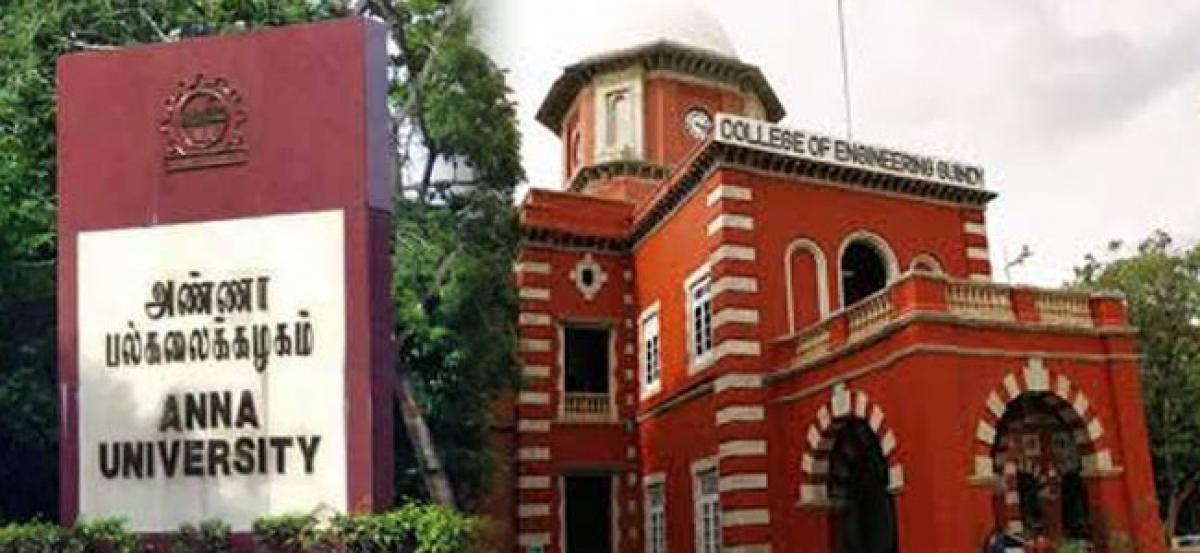 Anna University racket - accused for marks rigging