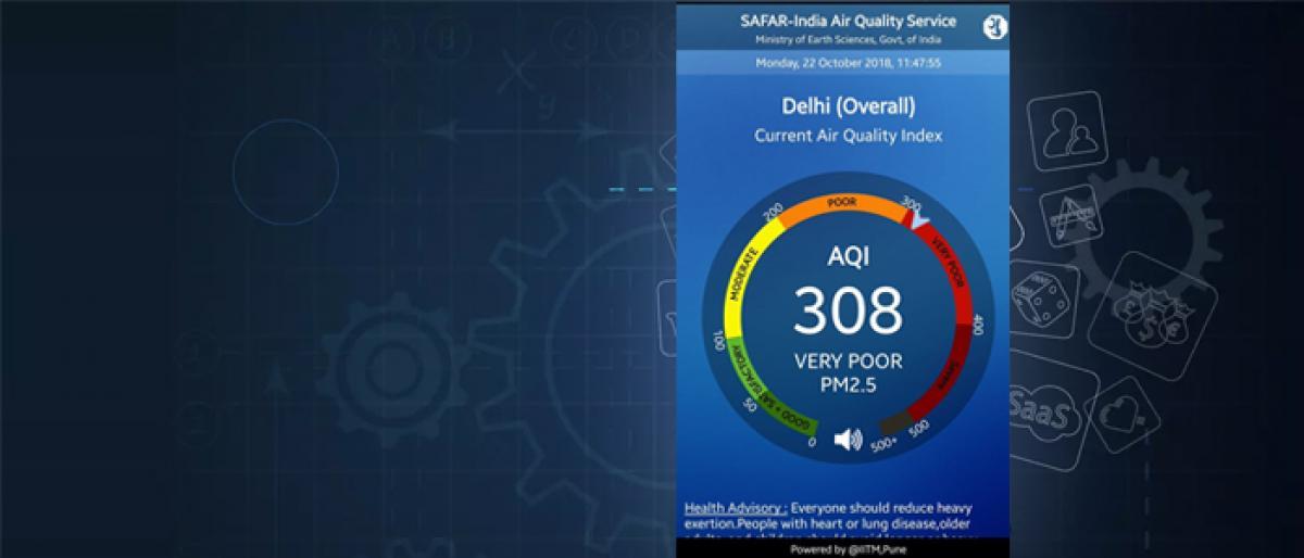 Netizens bombard social media as Delhi chokes