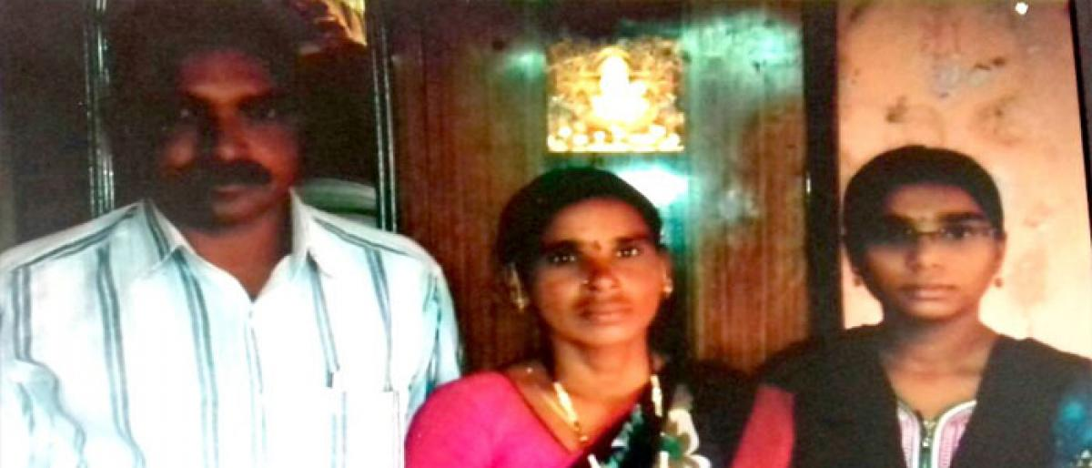 Labourer's daughter gets third position in Inter exams