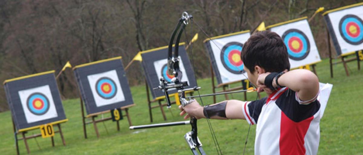 National archery championship from tomorrow in vijayawada