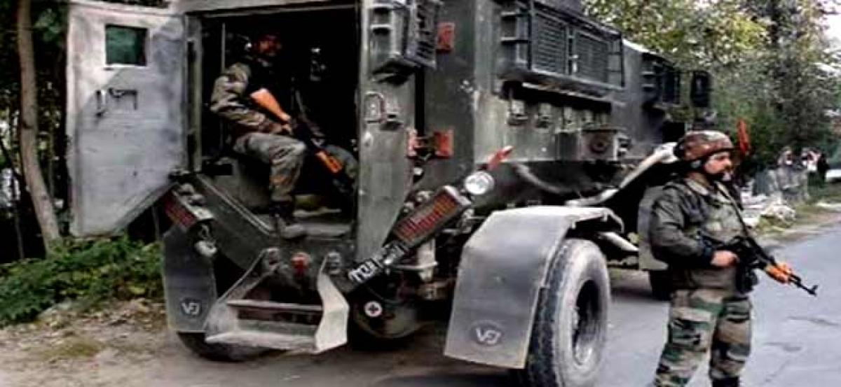 Search, cordon operations in J-Ks Pulwama