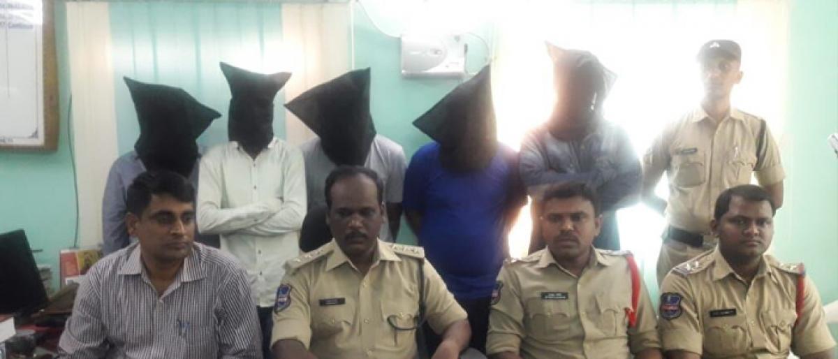 Kidnappers gang nabbed