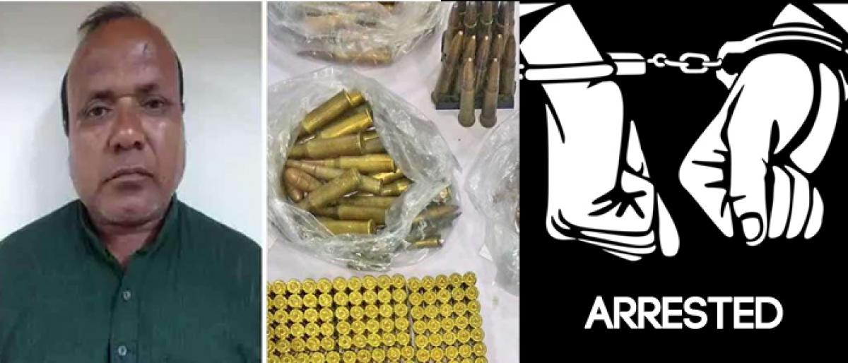 Man arrested for supplying arms to Naxals in Delhi