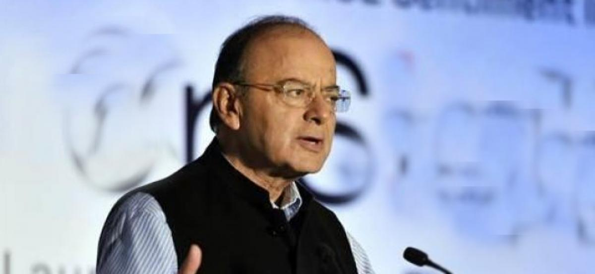 Arun Jaitley lashes out regarding the deposits made by Indians in Swiss banks is black money
