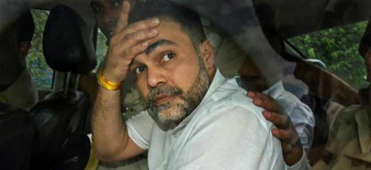 Court sends son of former BSP MP Ashish Pandey to 14 day judicial custody