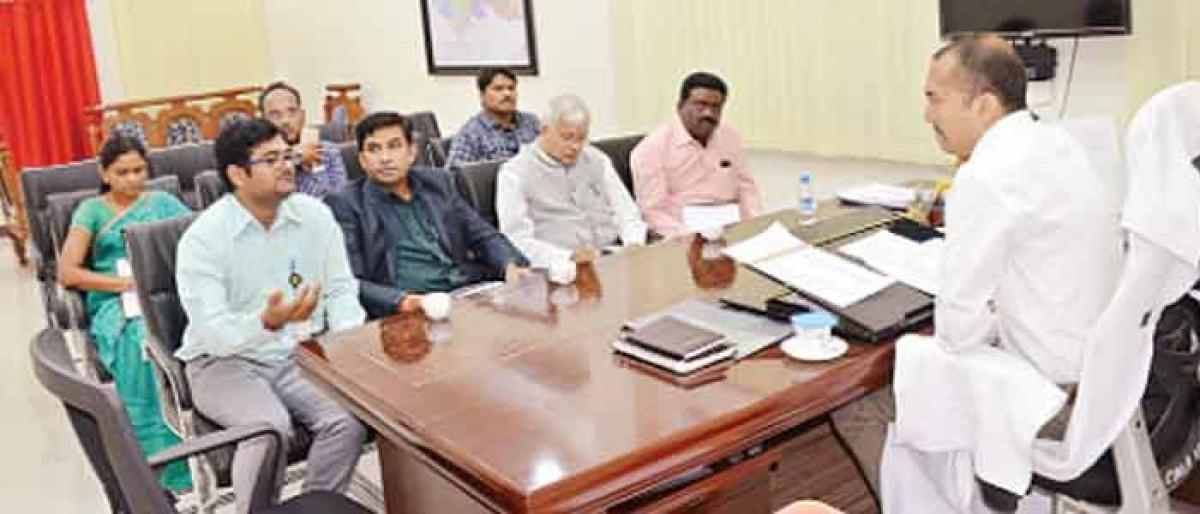 Scientists group visits Asifabad