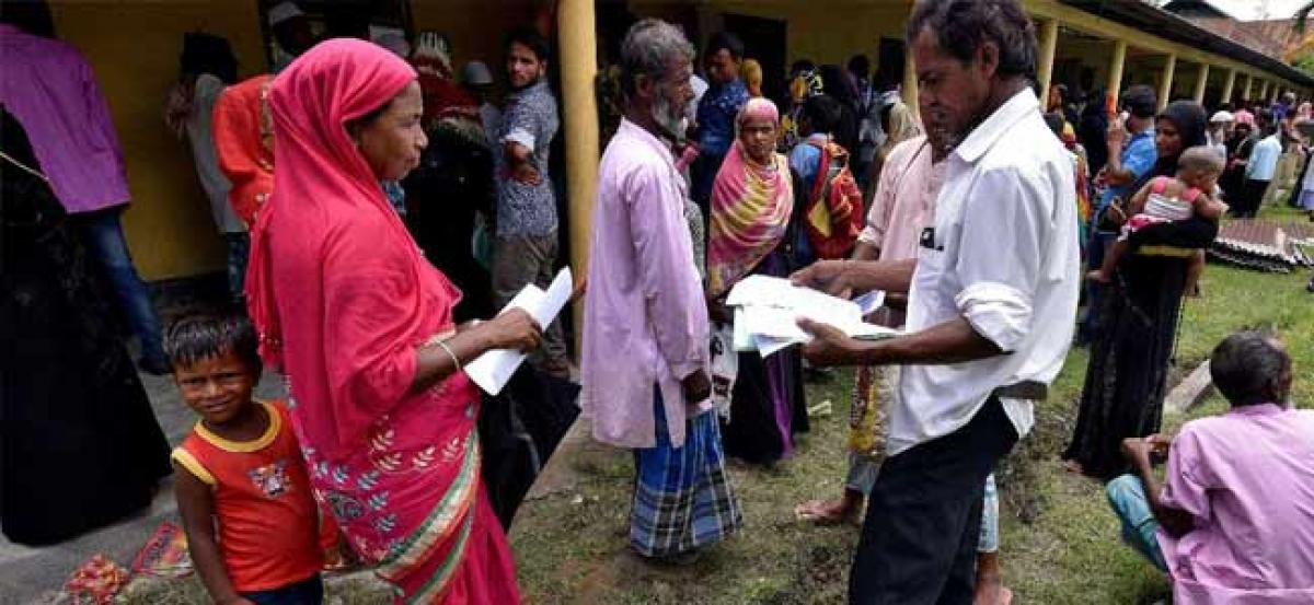 Assam NRC row: Contemplating to take biometrics details of over 40 lakh people excluded from draft, Modi govt tells SC