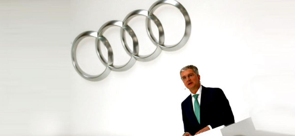 Diesel emissions probe: Audi CEO arrested on risk he may suppress evidence