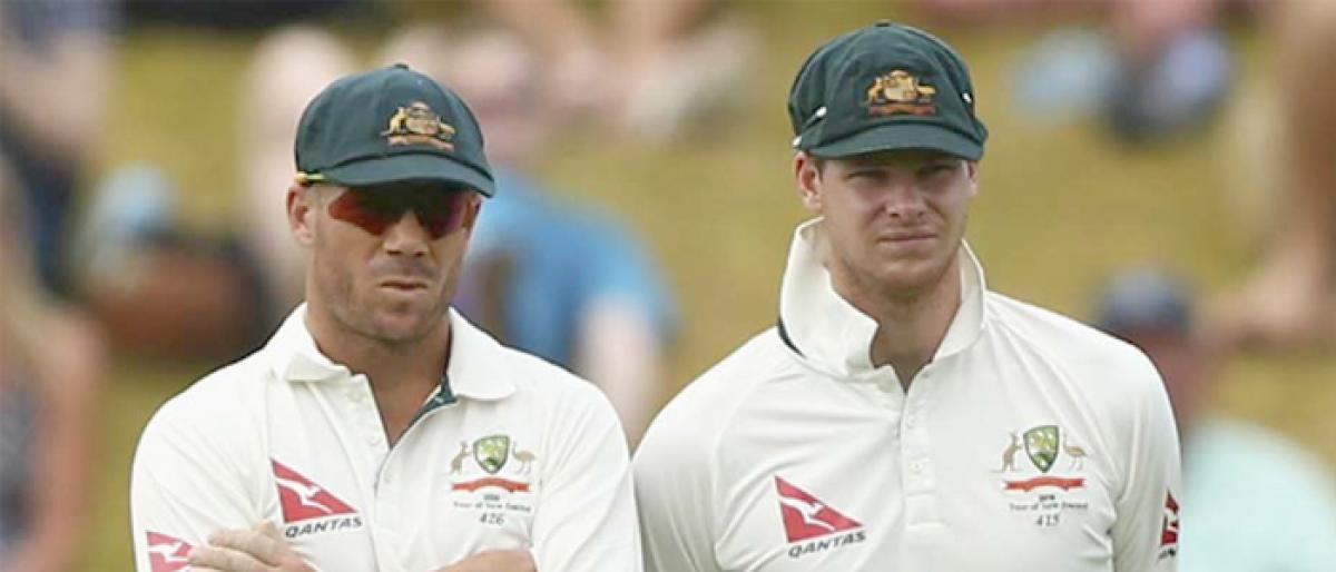 Steve Smith, David Warner to serve out ball tampering bans in full