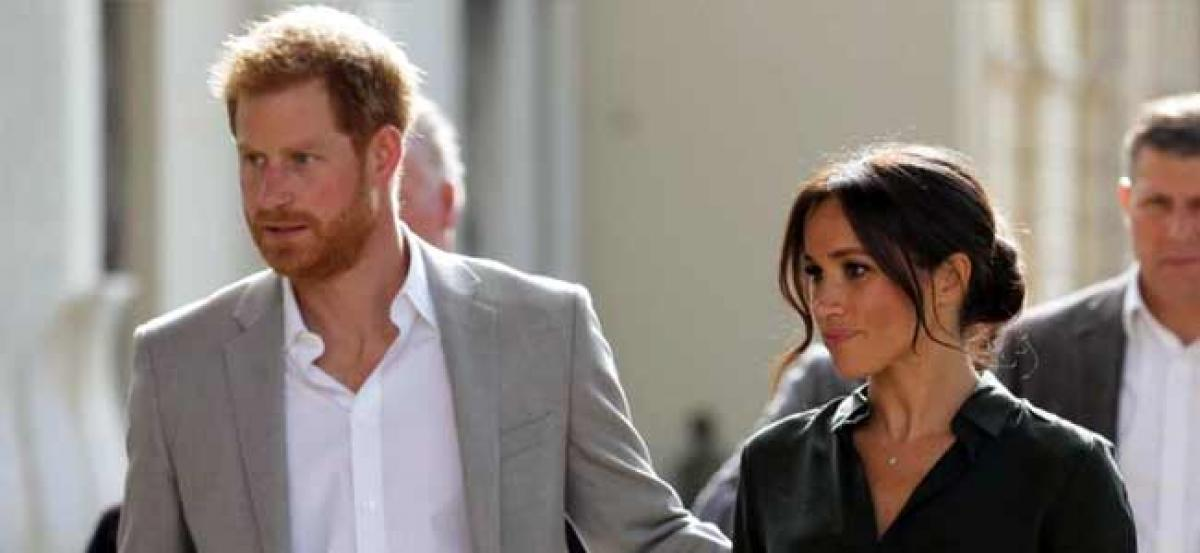 Duke and Duchess of Sussex on Overseas Tour: Meghan and Harry arrive in Australia