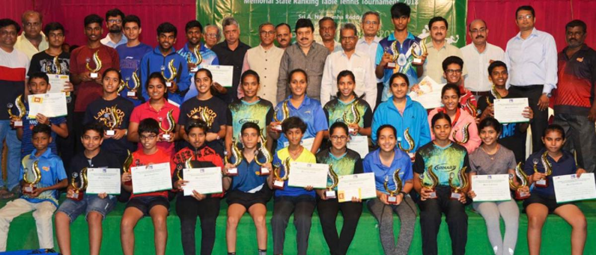 Awasa table tennis tournament concludes on a grand note