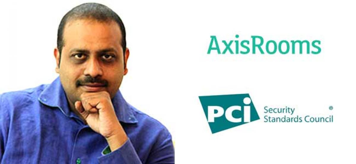 AxisRooms Secures PCI DSS Certification