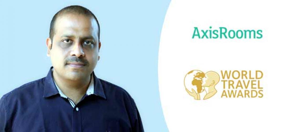 AxisRooms bags the prestigious World Travel Awards 2018
