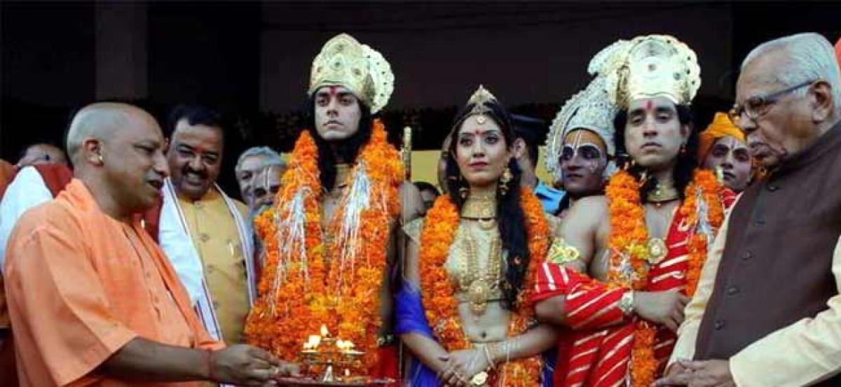 India became global superpower due to Lord Ram: UP Minister
