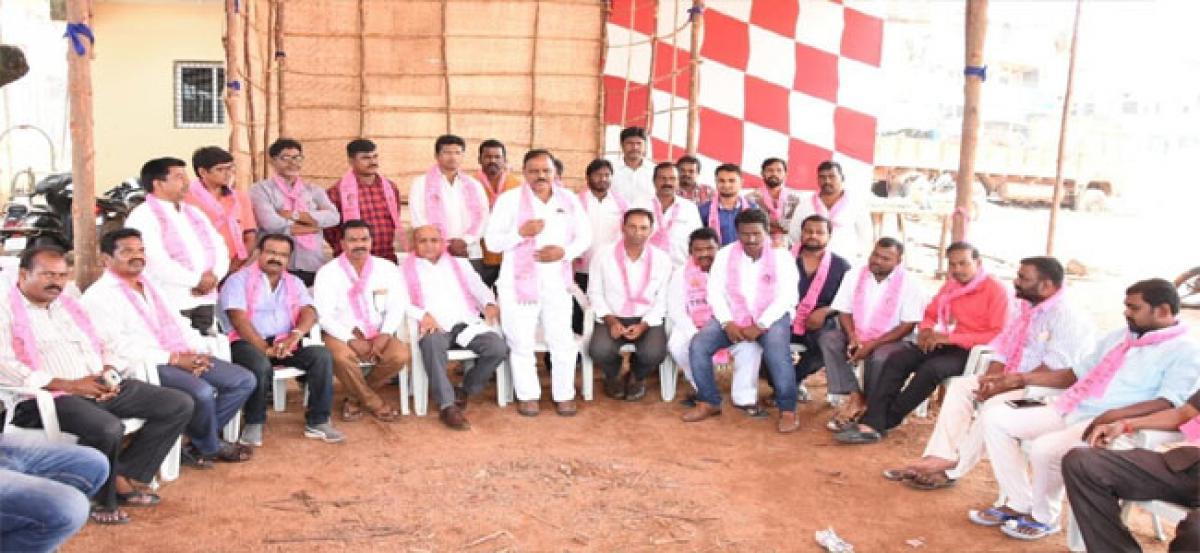 Baddam Parashuram Reddy stakes claim for TRS ticket