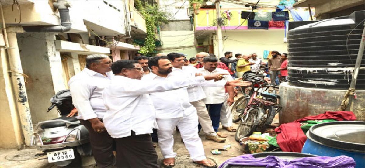 Plaints galore at 'Basti Paryatana' programme