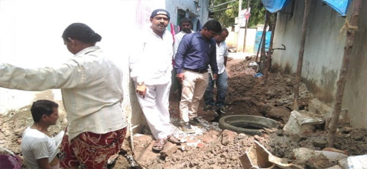 Permanent solution to drainage problems soon: Balanagar Corporator