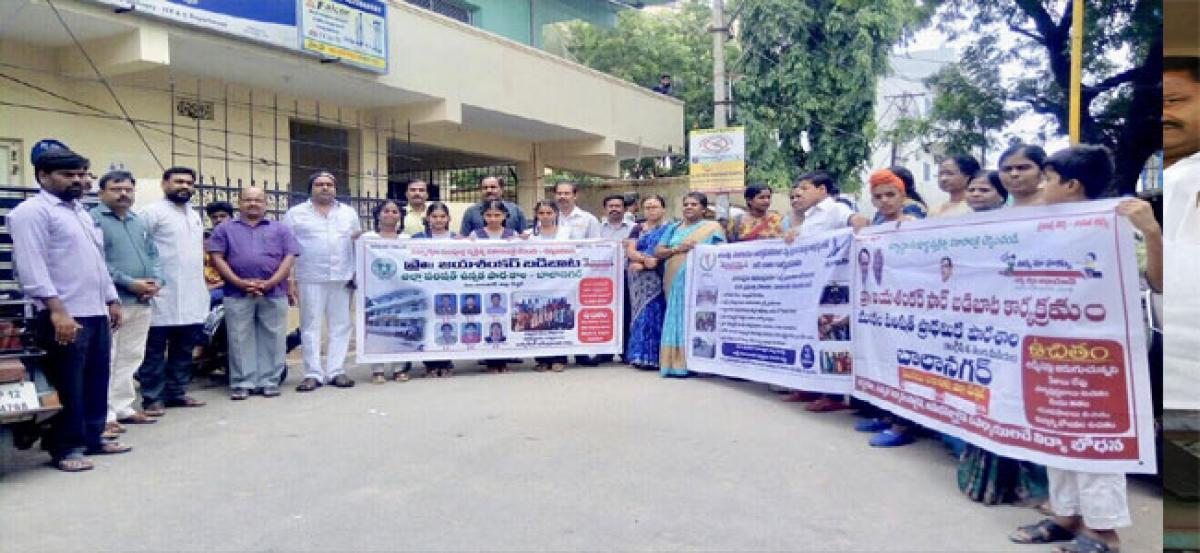 Kaanduri inaugurates 'Badi Baata' rally