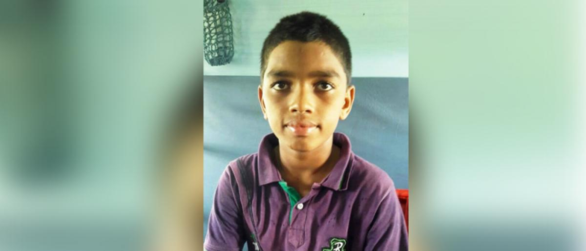 Pithapuram student selected for National Sub-Jr Level Basket Ball competition