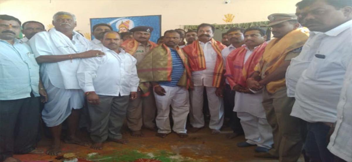 Beerappa Swamy wedding celebrations held