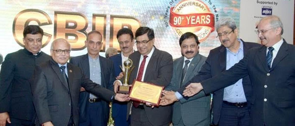 BHEL wins CBIP Award