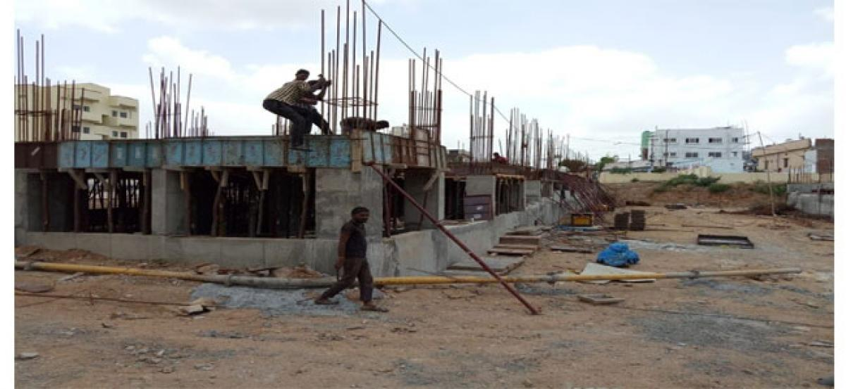 Construction of 2BHK houses at Mallapur put on hold