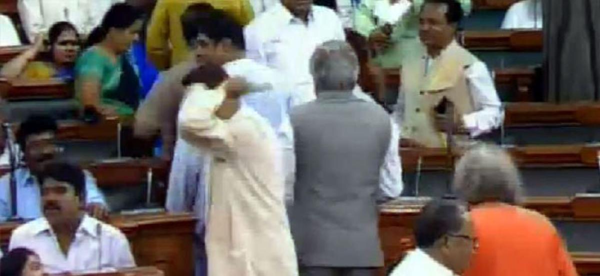 No-confidence motion: BJD walks out