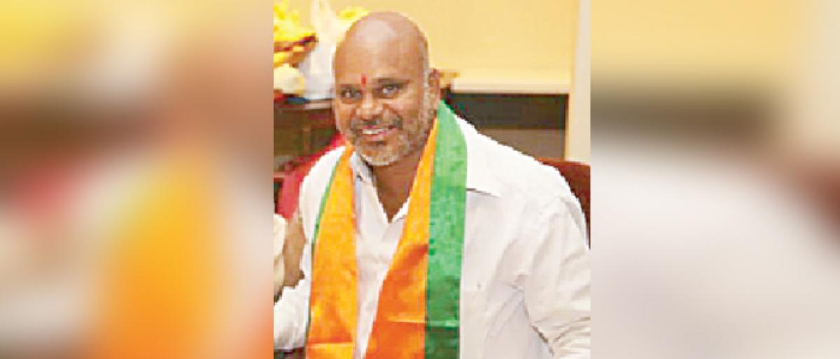 BJP leader Pasham Surender lauds arrest of Varavara Rao, others by Pune police