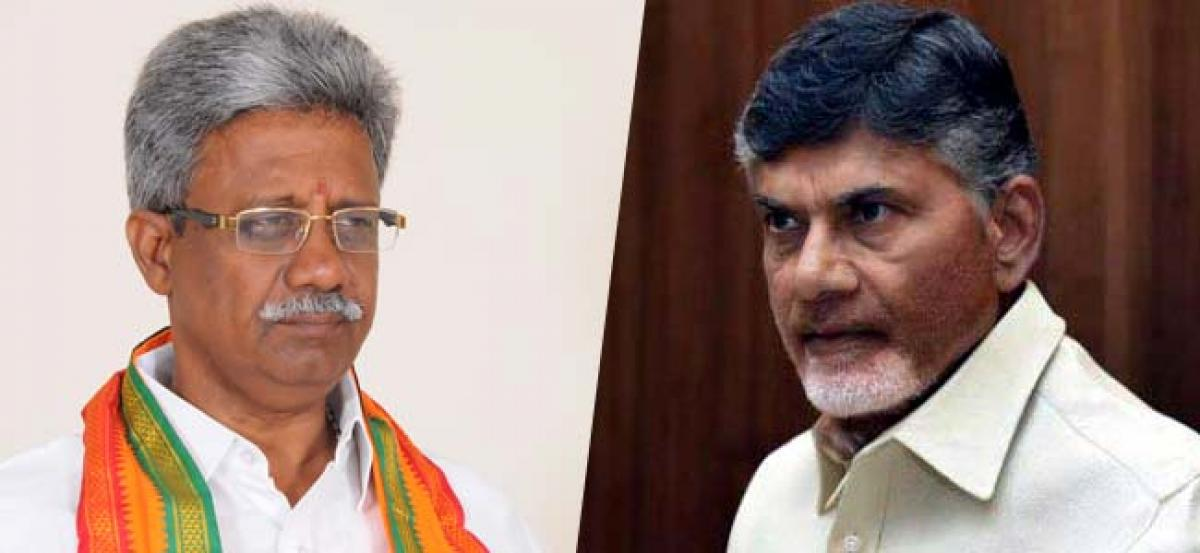 Chandrababu praises BJP MLAs, but….