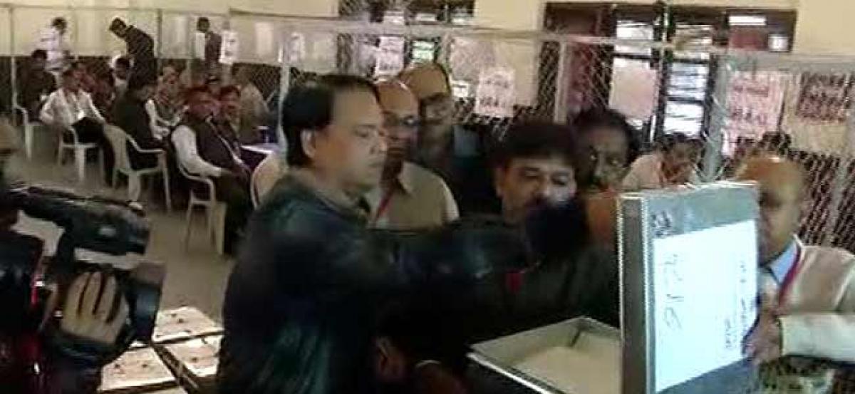 Counting of votes begins in Gujarat, BJP eyes sixth term