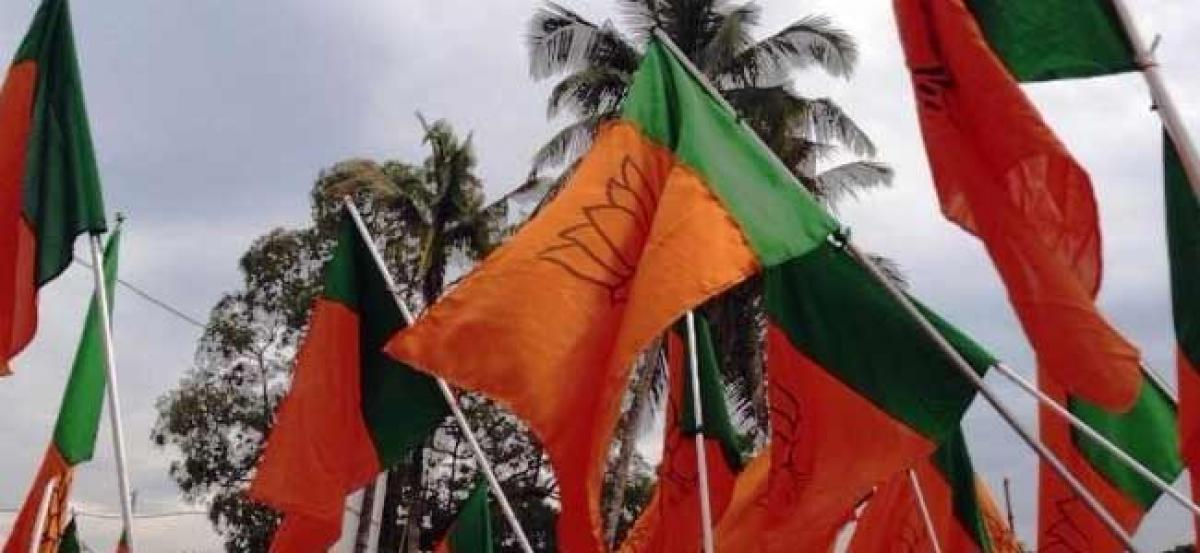 Five BJP candidates file nominations on Day-1