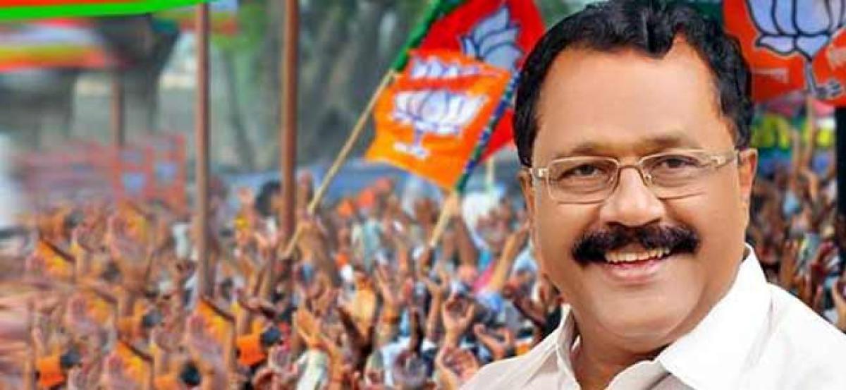 BJP Kerala chief moves HC seeking quashing of FIR against him