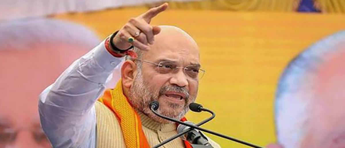 Amit Shah to consult RSS on Telangana polls