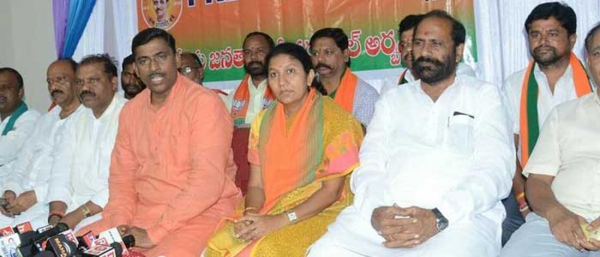 Congress has no future: Muralidhar Rao