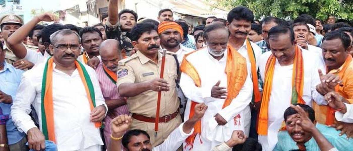 BJP demands scrapping of GO 39