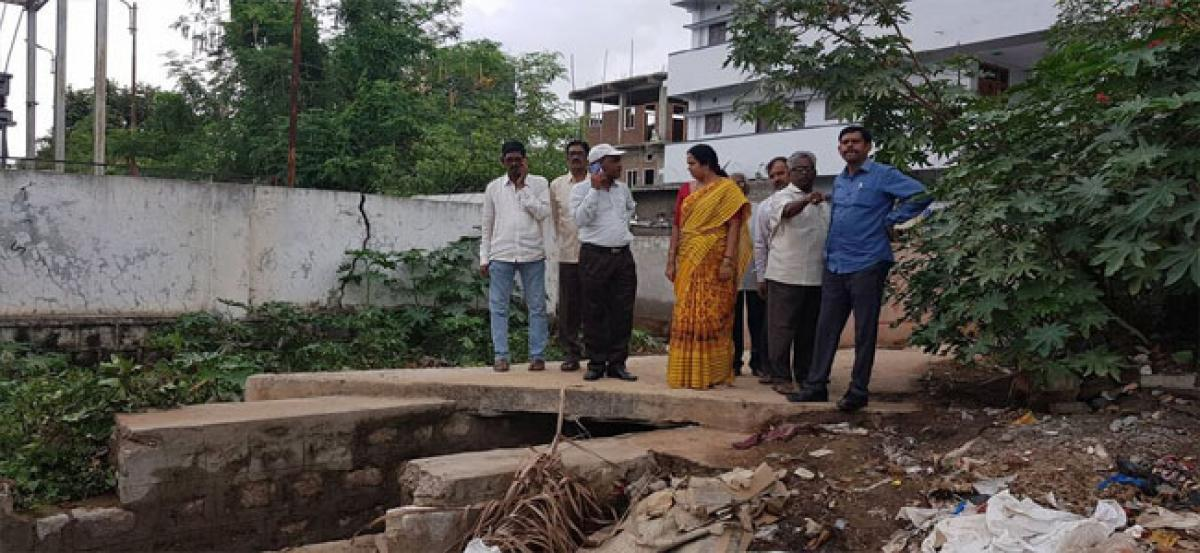 Overflowing drains, big cause of worry
