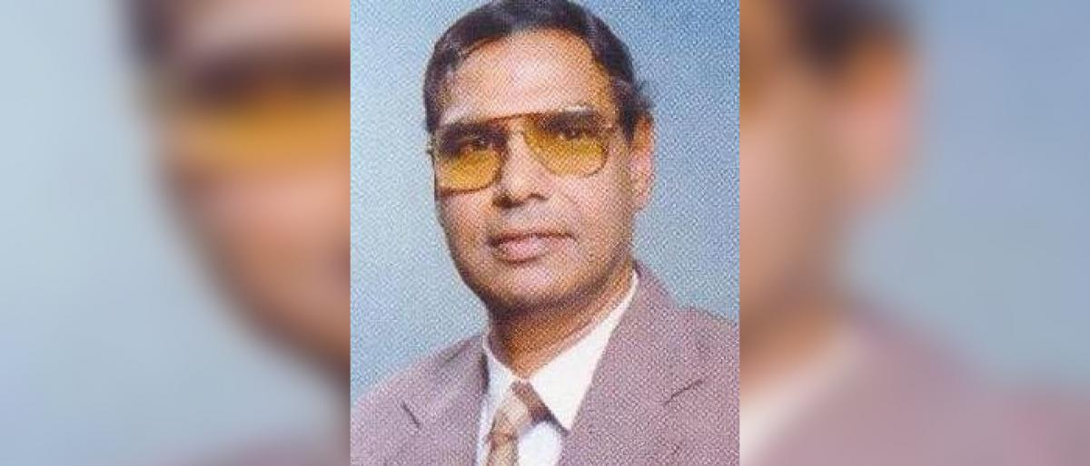 Former MP BN Reddy passes away