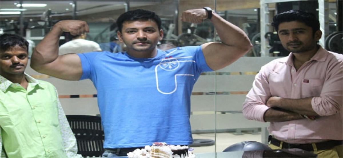 Bodybuilder from city to take part in Mr Asia