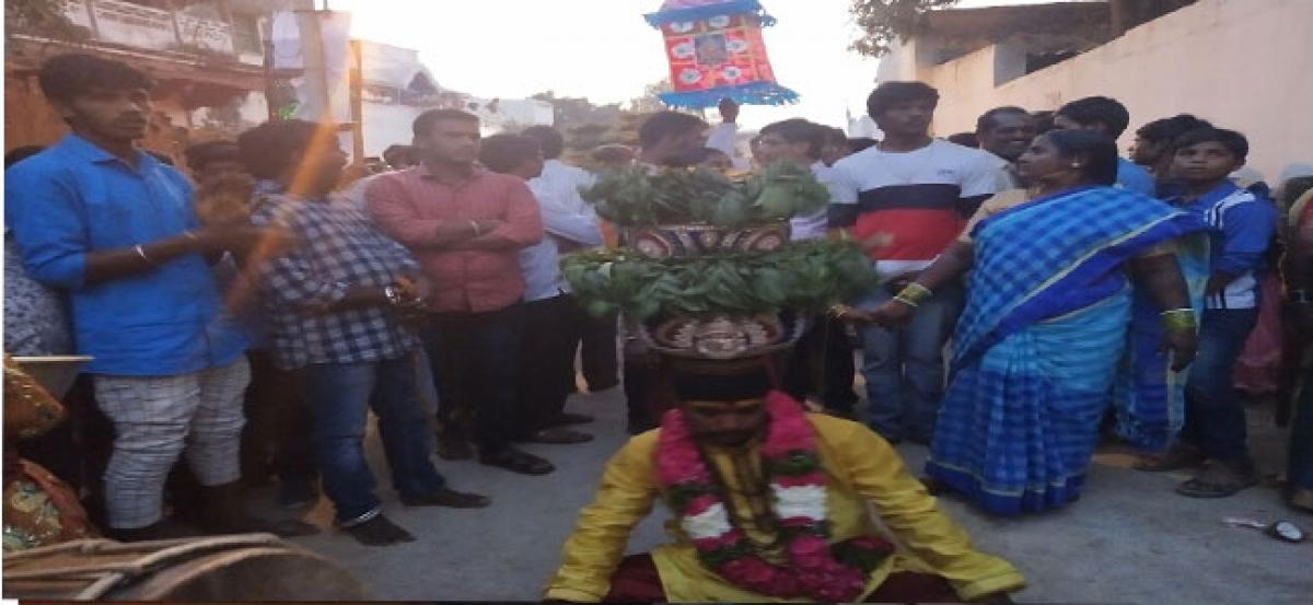 Kota Maisamma Bonalu celebrated